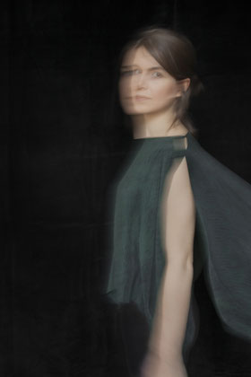 Portrait of future-driven fashion designer Natascha von Hirschhausen