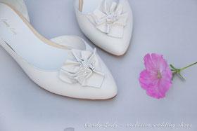 Балетки свадебные wedding bridal shoes pumps balerina Киев Москва Спб