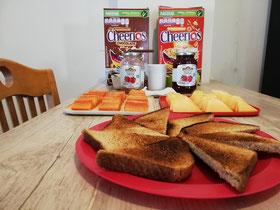 Hostel Breakfast
