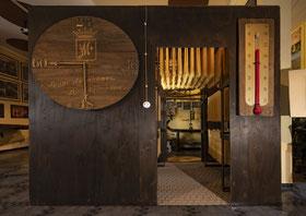 camera di asciugatura restaurata,  inizi '900
