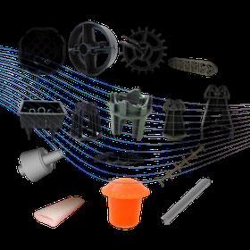 Silletas separadores para cimba