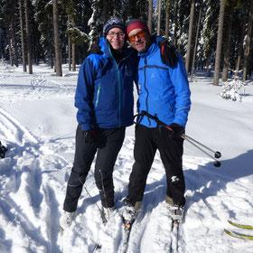 Langlaufkurse am Bretterschachten für Einsteiger und Fortgeschrittene, Skischule, Langlaufschule in Bodenmais, Gruppenkurse, Einzelstunden