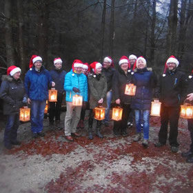Weihnachtsfeiern, Betriebsausflug, Vereinsausflug, Firmenevent, in Bodenmais im Bayerischen Wald