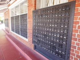 郵便局の私書箱
