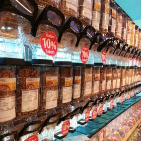 Verpackungs-frei einkaufen von Nudeln, Reis und Haferflocken