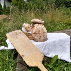 Brot selber backen (im Lehmofen)