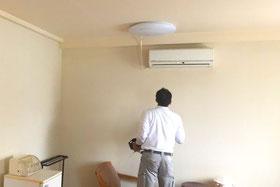 エアコンの取付工事