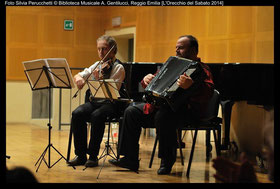 Emanuele Reverberi ( violino) Paolo Simonazzi ( fisarmonica)