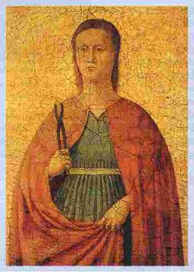 Schule Piero della Francescas: Hl. Apollonia