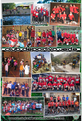 Calendario oficial 2015 Club Deportivo Jerte