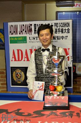 昨年度優勝の新井達雄(JPBF)