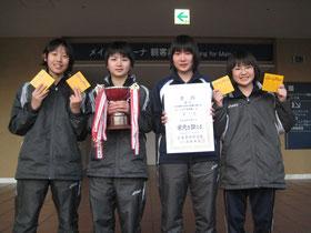広島県総合団体卓球選手権大会 優勝