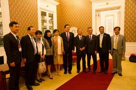 李小林対外友好協会会長との会見