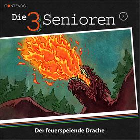 Cover Die 3 Senioren - Der feuerspeiende Drache