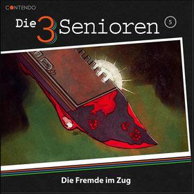 Cover Die 3 Senioren - Die Fremde im Zug