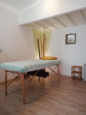 Un espace dédié aux soins et à la détente.