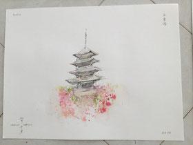 京都・五重塔