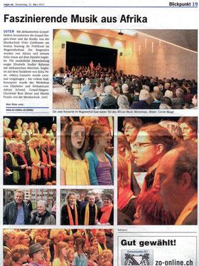 regio.ch, Donnerstag 31. März 2011-Blickpunkt
