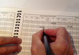 registres de comptabilité