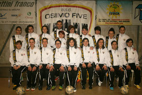 Osimo Five Femminile SerieD 2013/2014