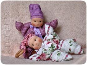 куклы текстильные для самых маленьких