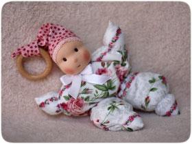 текстильная кукла для самых маленьких в вальдорфском стиле