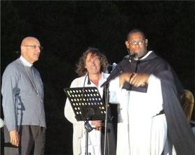 Monseigneur Rey, Michel, et frère David