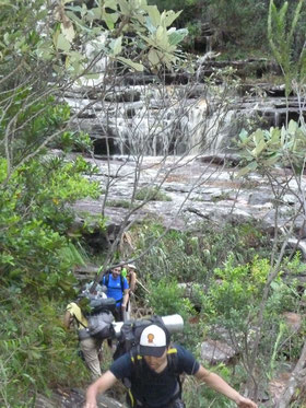 Hiking Chapada Diamantina.