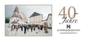 Flyer Kammerorchester Haidershofen, v