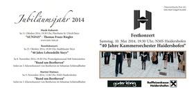 Flyer Kammerorchester Haidershofen, r