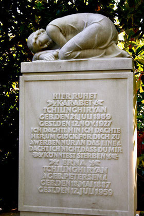 Karabet Tchilinghiryan (1869-1927), Parkfriedhof Ohlsdorf, Hamburg