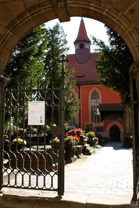 Eingangstor, St. Johannis Friedhof zu Nürnberg