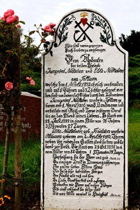 """""""Glaube, Hoffnung, Liebe"""", Friedhof Süderende auf Föhr"""