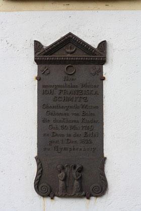 Schmitz, Franziska (1759-1822)