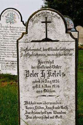 Kreuzdarstellung, Friedhof Süderende auf Föhr