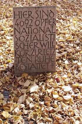 KZ-Ehrenhain I, Friedhof am Perlacher Forst