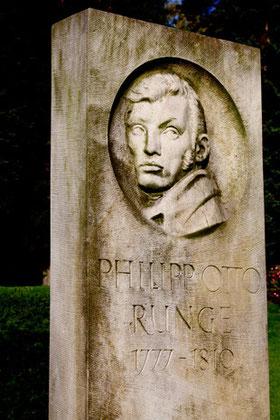 Philipp Otto Runge (1777-1810), Parkfriedhof Ohlsdorf, Hamburg