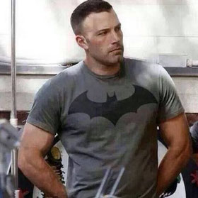 Holy muscles, Batman!