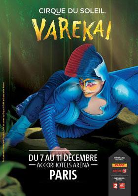 Cirque du soleil avec VAREKAI à l'ACCOR HOTELS ARENA PARIS BERCY Spectacles de noël