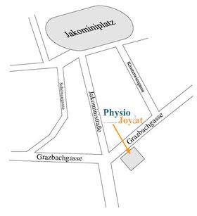 Physiotherapie im Zentrum von Graz (Jakomini)