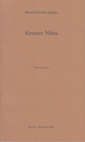 Gedichte, polnisch, Deutsch-Polnisches Jahr 2005/06 Wydawnictwo MarMar, Breslau-Bonn, 2005/06