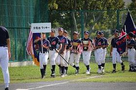 Aチーム行進