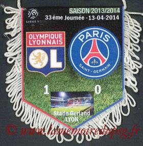 Fanion  Lyon-PSG  2013-14