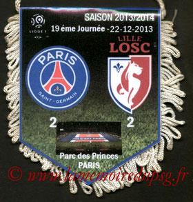 Fanion  PSG-Lille  2013-14