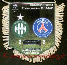 Fanion  Saint-Etienne-PSG  2013-14