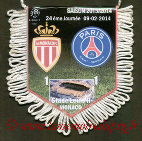 Fanion  Monaco-PSG  2013-14