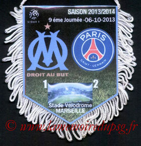 Fanion  Marseille-PSG  2013-14