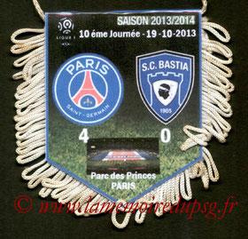 Fanion  PSG-Bastia  2013-14