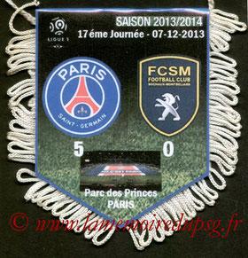 Fanion  PSG-Sochaux  2013-14