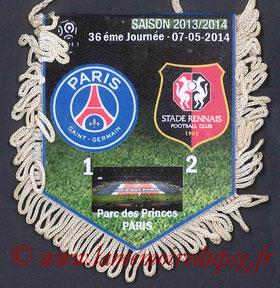 Fanion  PSG-Rennes  2013-14